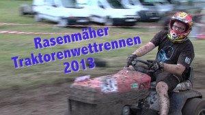 Rasenmaehertraktorenrennen 2013