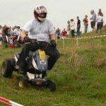 Rasenmähertraktorrennen