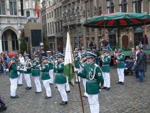 Plaisirs d´hiver Brüssel Spielmannszug Walhorn