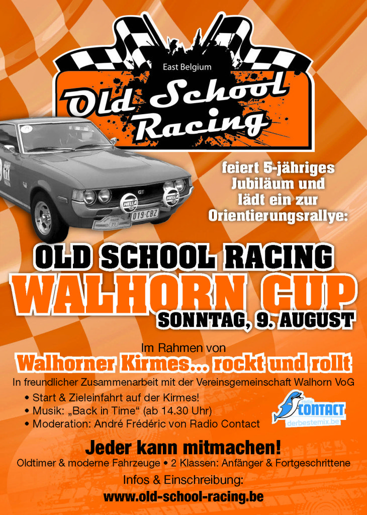 Old School Racing Walhorn Cup